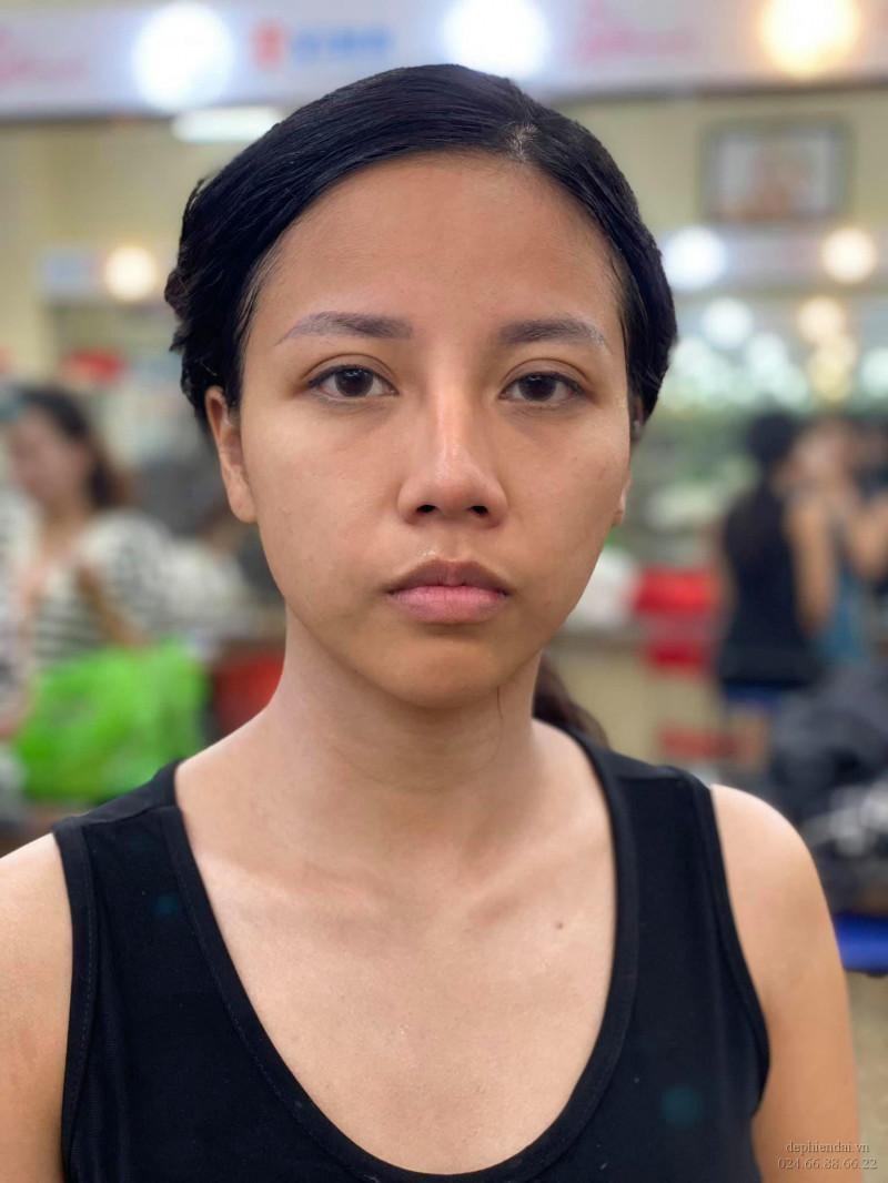 Bài thực hành make up học viên lên mẫu tuần 2 tháng 7 năm 2021