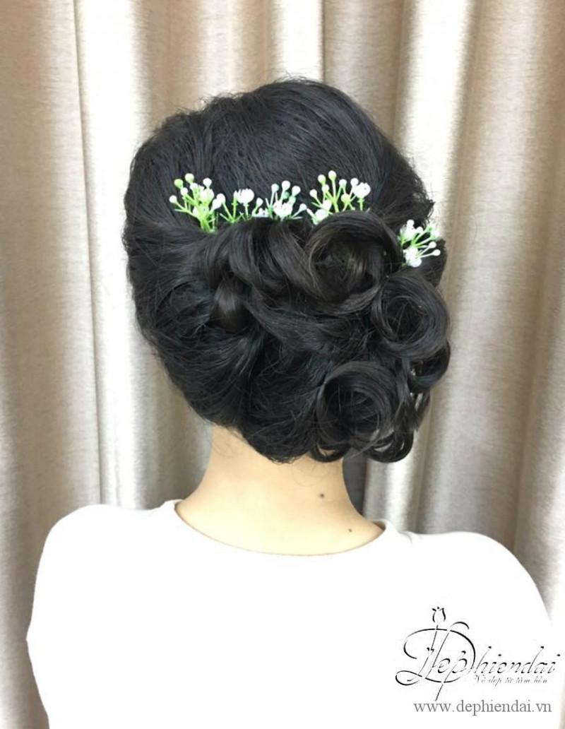 Bài thực hành Bới tóc cô dâu - Bài thực hành Bới tóc Tuần3-T10-2017