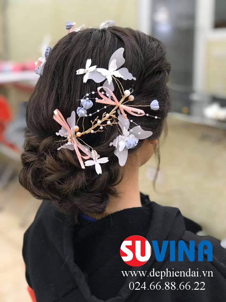 Bài thực hành bới tóc học viên tuần 4 tháng 2 năm 2020