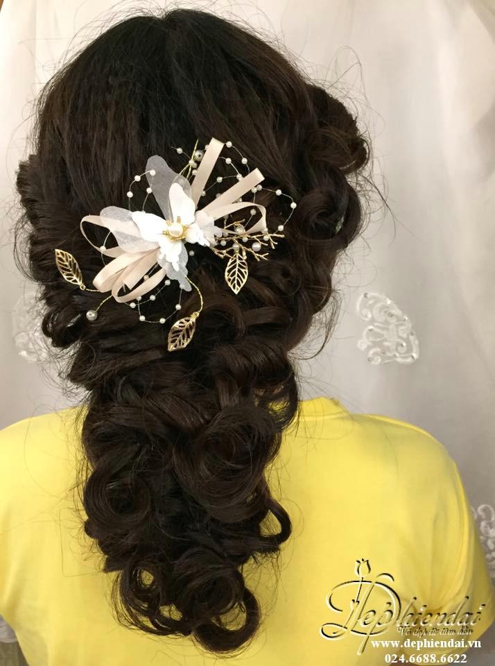 Bài thực hành bới tóc học viên tuần 4 tháng 8 năm 2018