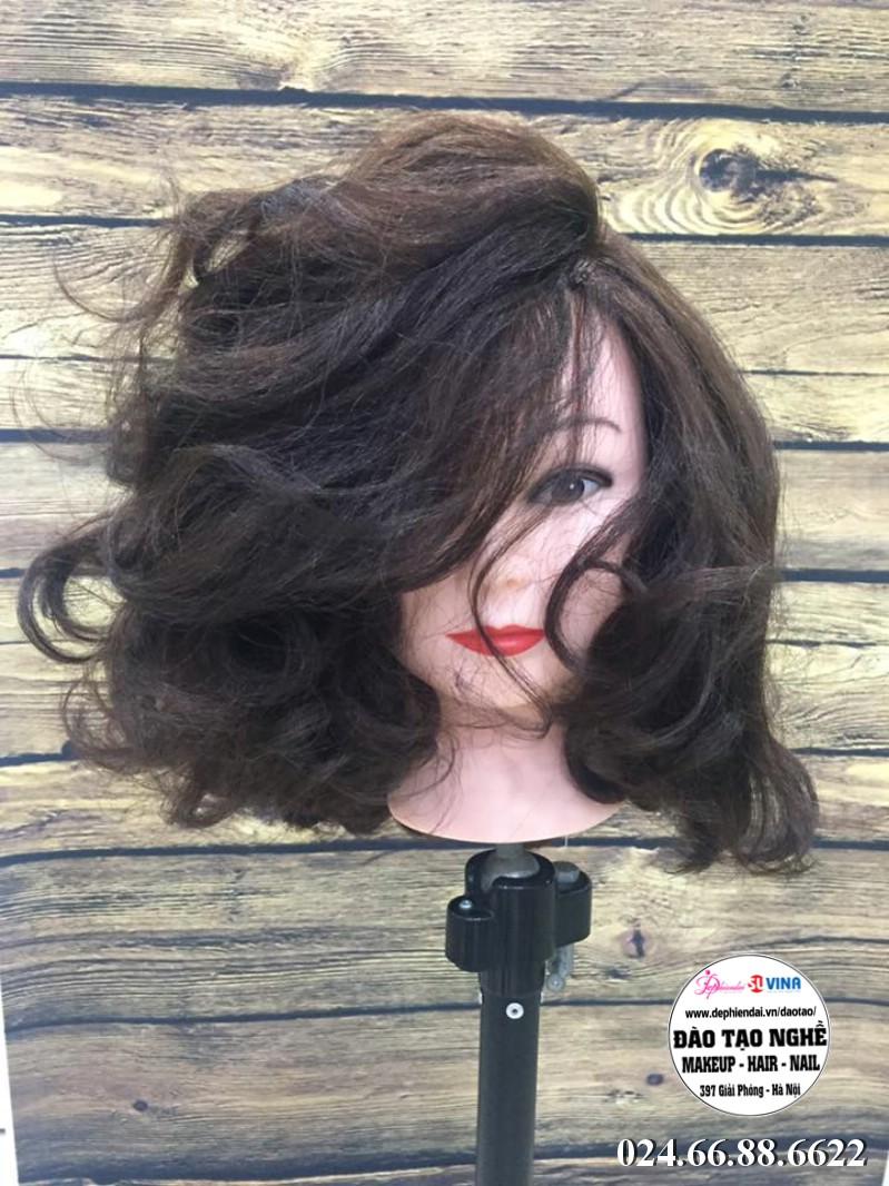 Bài Thực Hành Sấy tóc học viên tuần 3 tháng 10 năm 2018