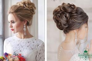 Cách bới tóc búi cao cho cô dâu ngày cưới