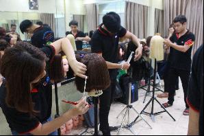Dạy cắt tóc tại Trung tâm đào tạo nghề uy tín Hà Nội