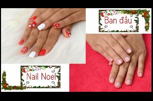Dạy Nail Art - hướng dẫn cách Làm nail đẹp Noel Giáng sinh 2017