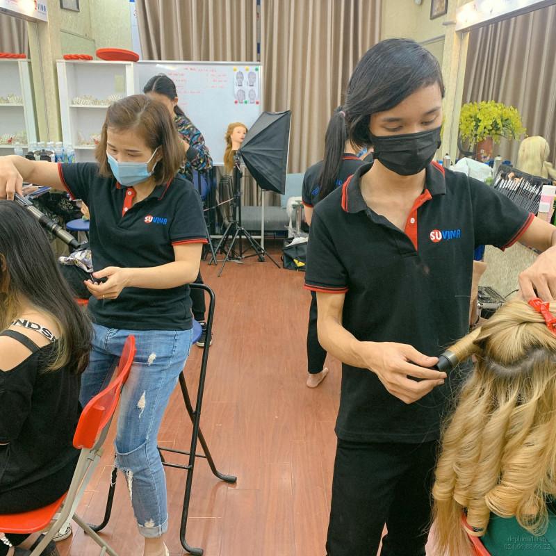 Lớp học bới tóc tuần 1 tháng 10 năm 2020