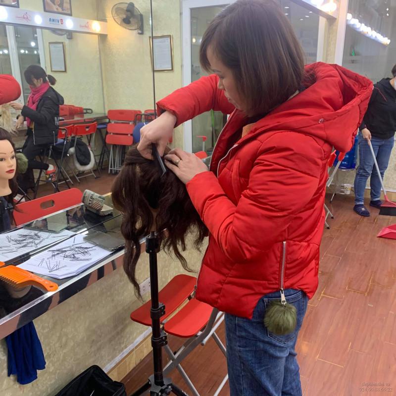 Lớp học bới tóc tuần 2 tháng 1 năm 2021