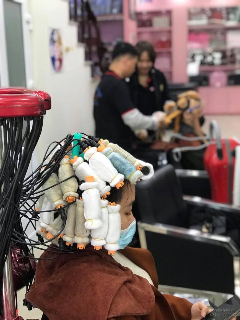 Lớp thực hành tóc tuần 2 tháng 1 năm 2021