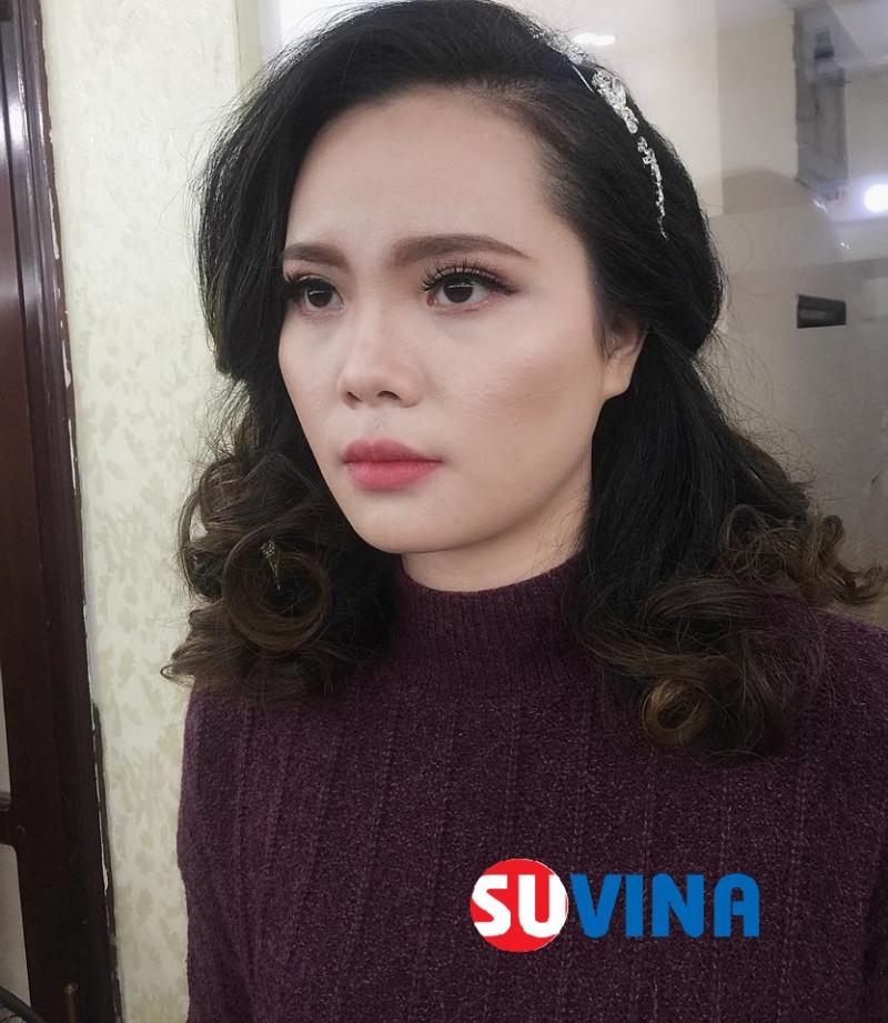 Make up cô dâu mặt mụn  Học viên : Phan Liễu