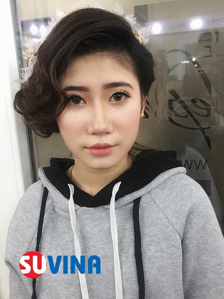 Make up cô dâu tone nude  Học viên : Lan Anh