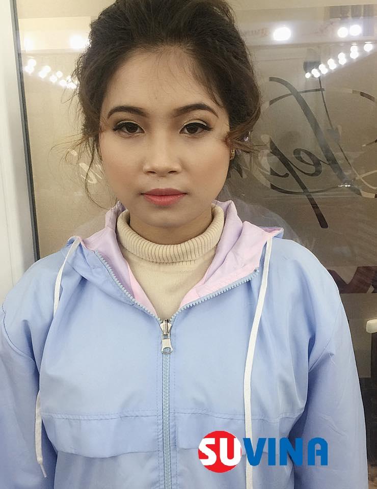 Make up tone đồng Hv : Lan Anh