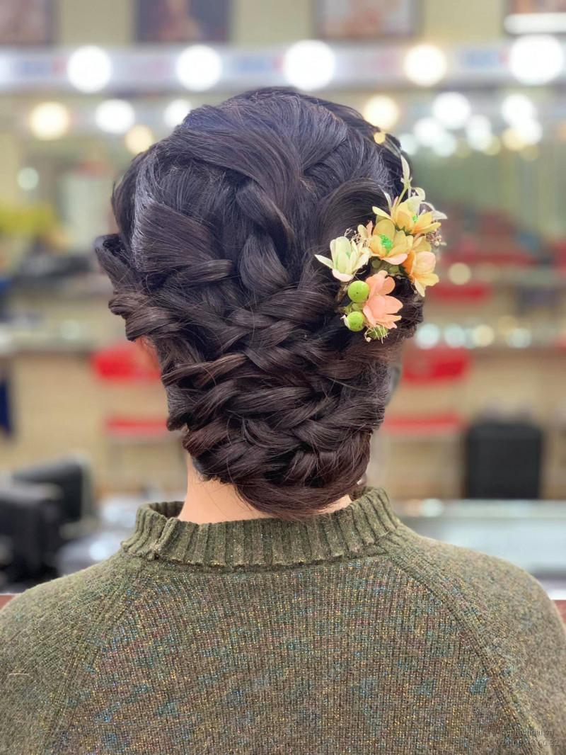 Tác phẩm bới tóc học viên lên mẫu tuần 3 tháng 1 năm 2021