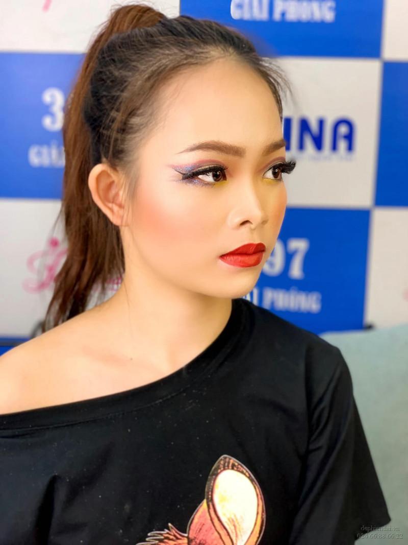 Tác phẩm make up học viên lên mẫu tuần 2 tháng 10 năm 2020