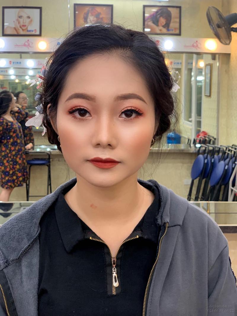 Tác phẩm make up học viên lên mẫu tuần 3 tháng 10 năm 2020