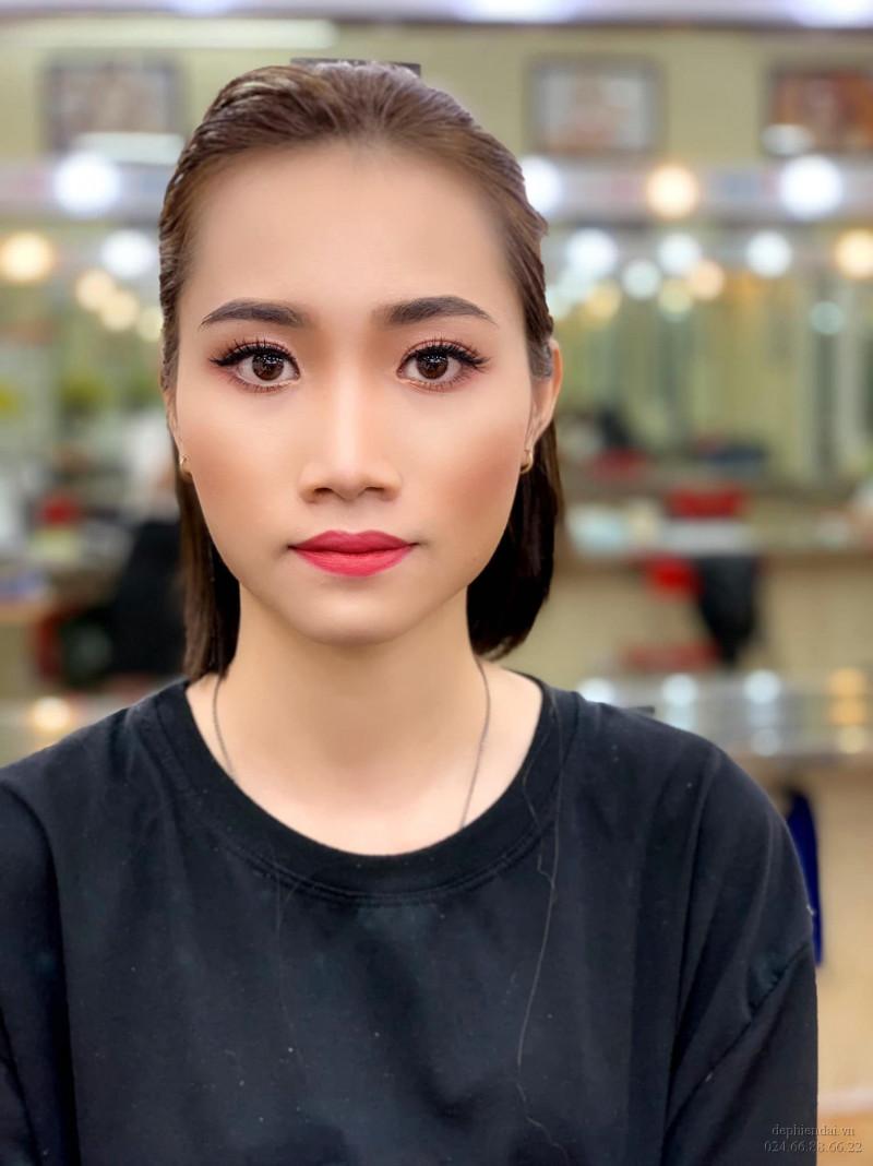 Tác phẩm make up học viên lên mẫu tuần 3 tháng 11 năm 2020
