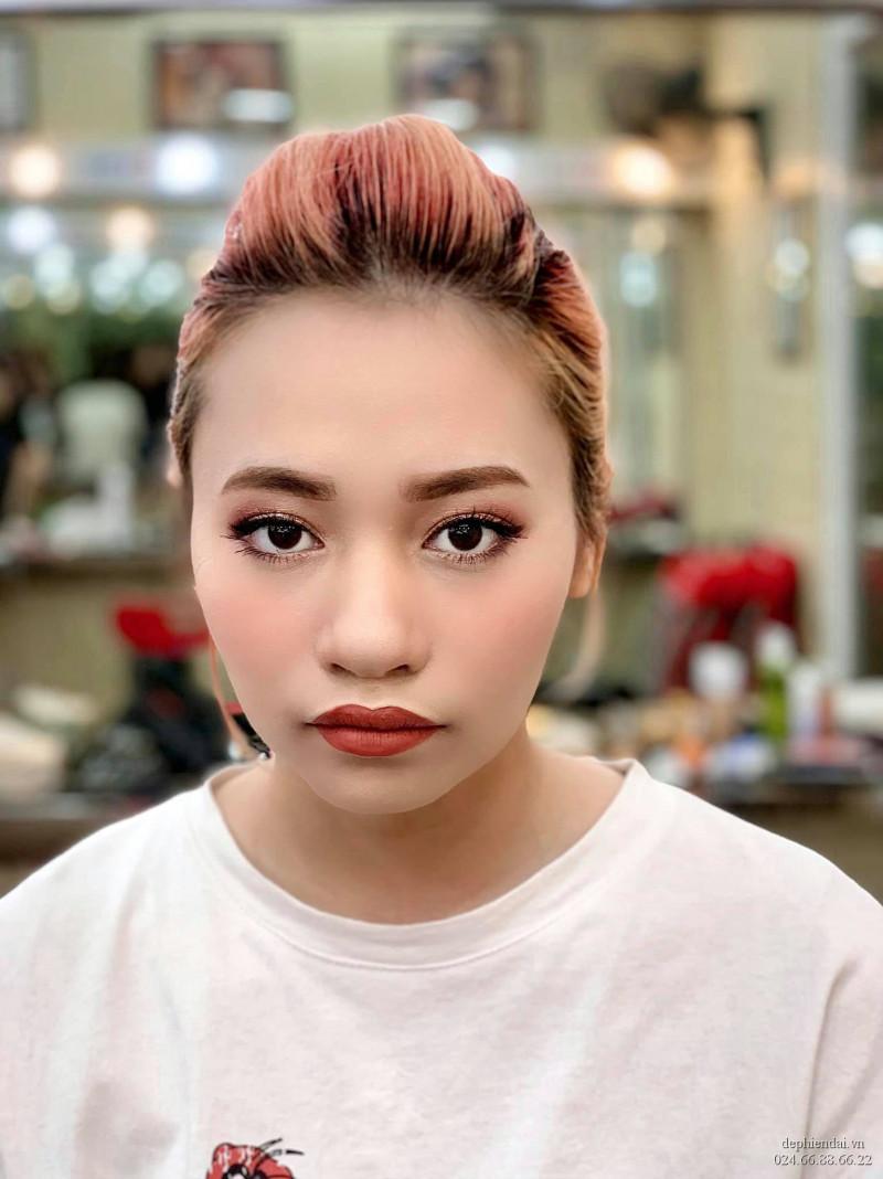 Tác phẩm make up học viên lên mẫu tuần 4 tháng 6 năm 2021