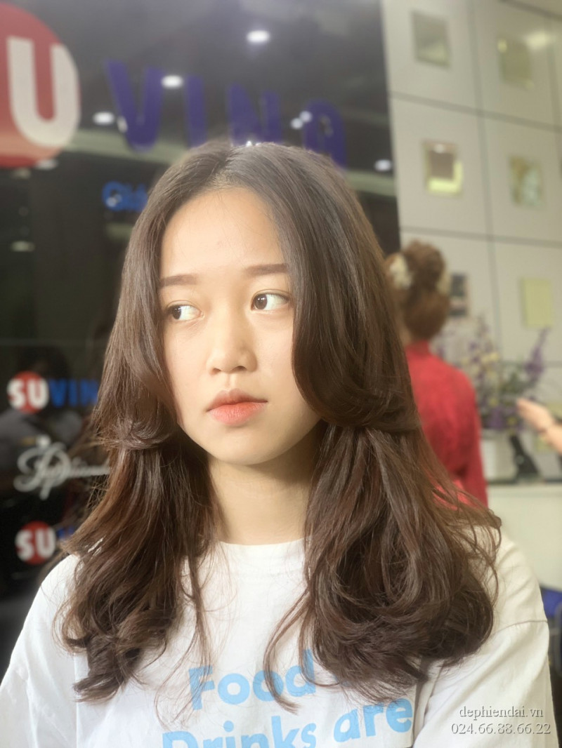 Tác phẩm tóc của học viên lên mẫu