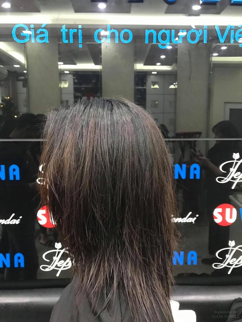 Tác phẩm tóc học viên lên mẫu tuần 2 tháng 1 năm 2021