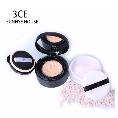 Phấn 3CE BB Soothing Cushion Loose Powder 2 in 1