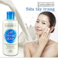 Sửa Rửa Mặt Tẩy Trang Vitamin E Evoluderm
