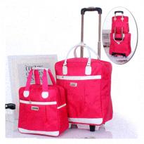 Set Túi Du Lịch Kéo 2 Sản Phẩm 450K Đỏ