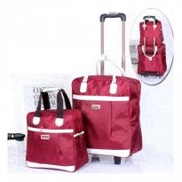 Set Túi Du Lịch Kéo 2 Sản Phẩm 450K Đỏ Đun