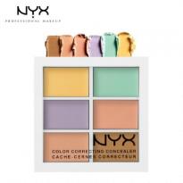 Bảng Che Khuyết Điểm NYX 6 Màu